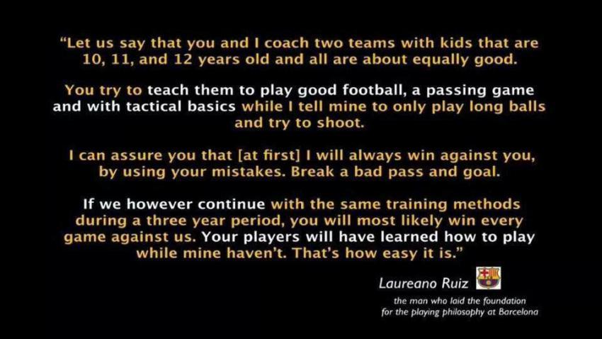 long balls vs passing
