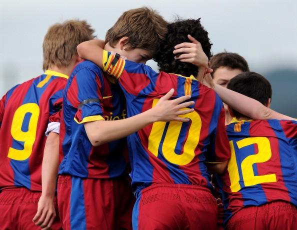 Memo to all youth clubs, coaches, and parents: humility and respect @FC Barcelona