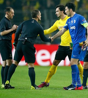 Referees welcome: One club's radical attitude towards officials
