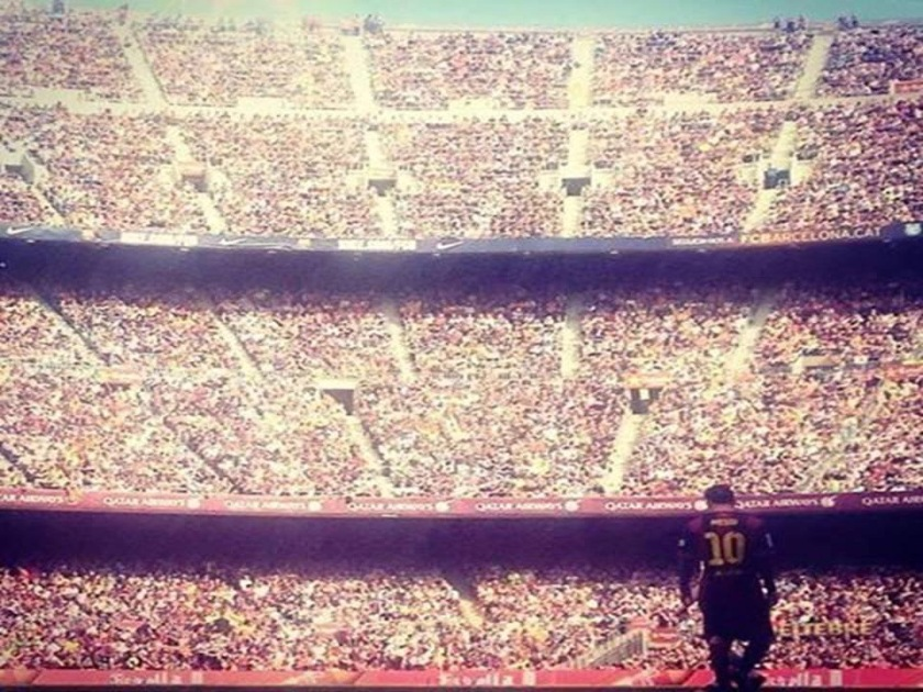 messi at camp nou