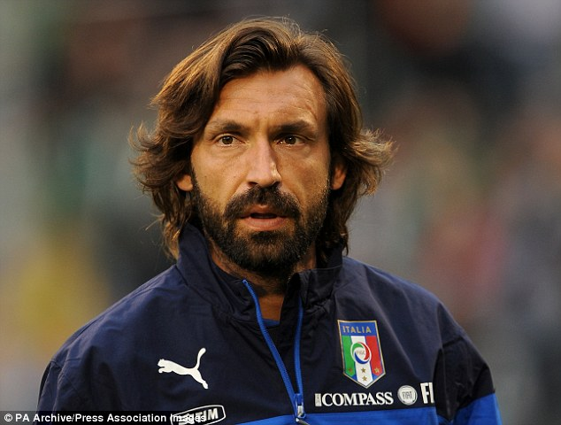 Quality of college players according to superstar Andrea Pirlo