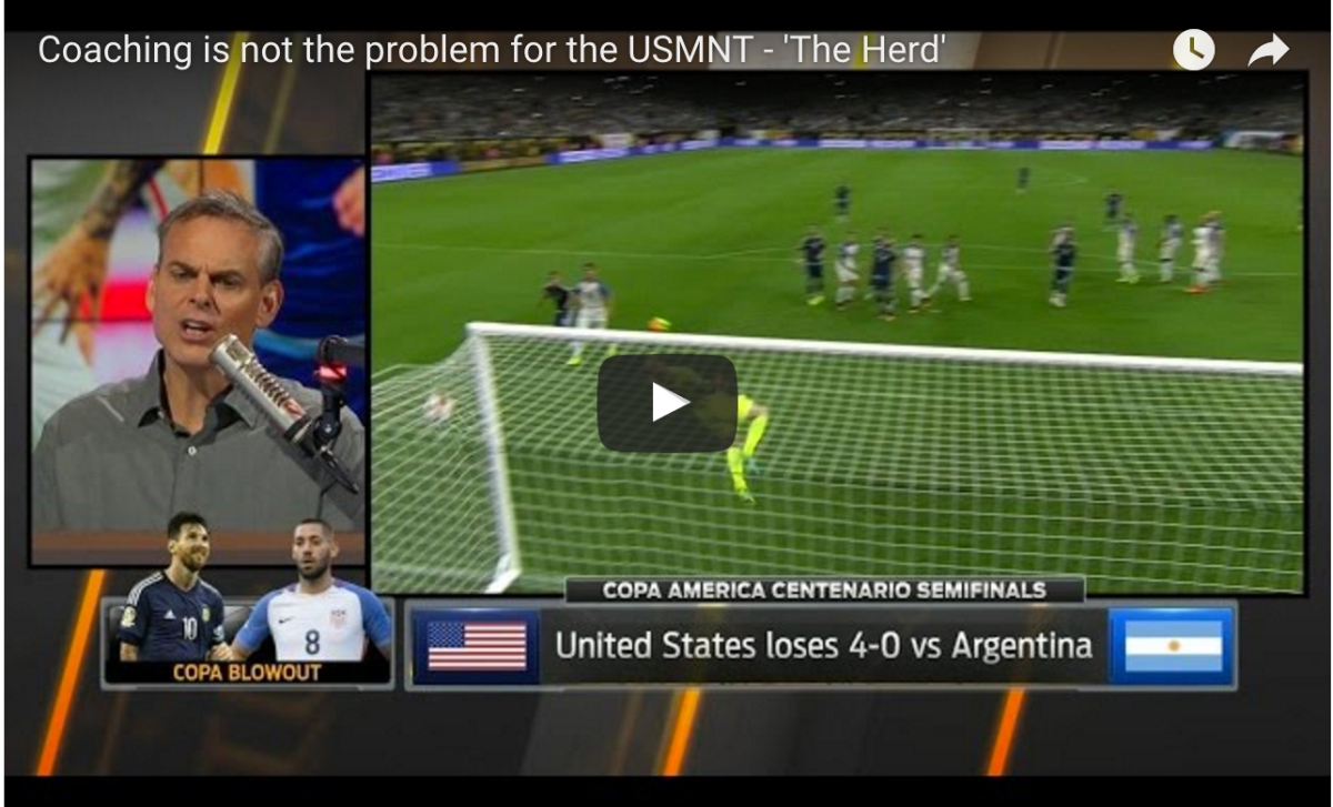 The American Soccer Culture Problem (3Four3)